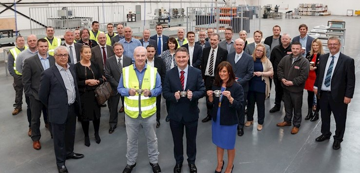 CMS Window Systems opens new window and door factory in East Kilbride