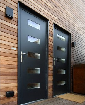New Aluminium Entrance Door Range With Max 2.5mm Heat Expansion Tolerance