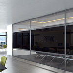 Halio electrochromic glass ensures comfort and a colour-neutral view