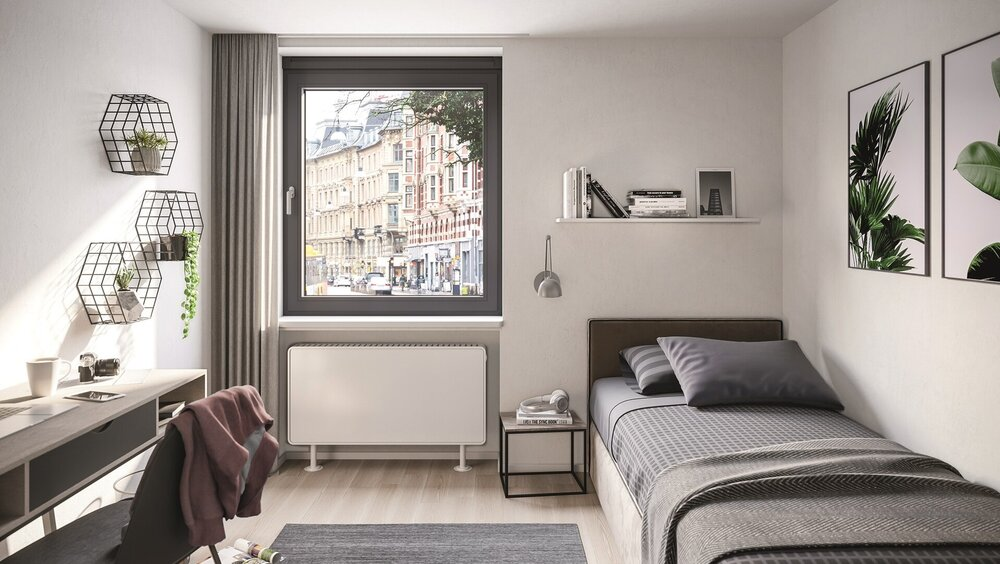 Schüco VentoFrame Asonic combines healthy air quality...