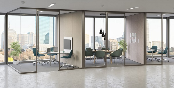 Teknion launches Tek Vue glass office-front system